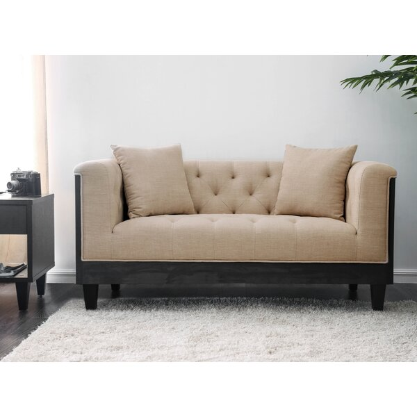 Molter Loveseat by House of Hampton
