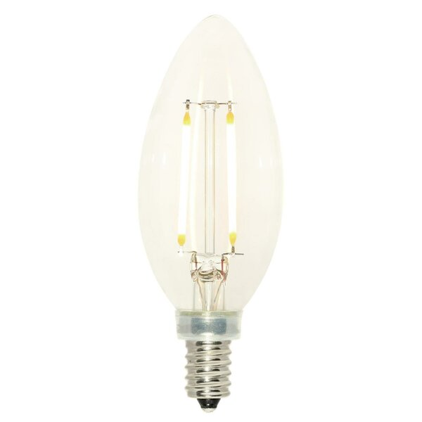 2.5W E12 Dimmable LED Candle Light Bulb by Westinghouse Lighting