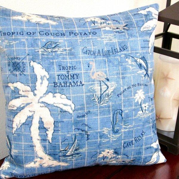 Tropical Island Song Indoor/Outdoor Throw Pillow (Set of 2) by Artisan Pillows