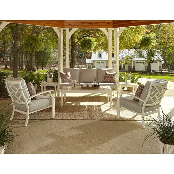 Mimosa 6 Piece Sunbrella Sofa Set with Cushions by Klaussner Furniture