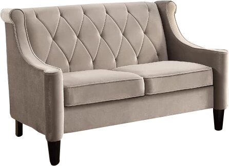 Buchanan Wingback Loveseat by Willa Arlo Interiors