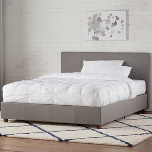 industrial bedroom furniture. mammoth lakes linen upholstered platform bed industrial bedroom furniture g