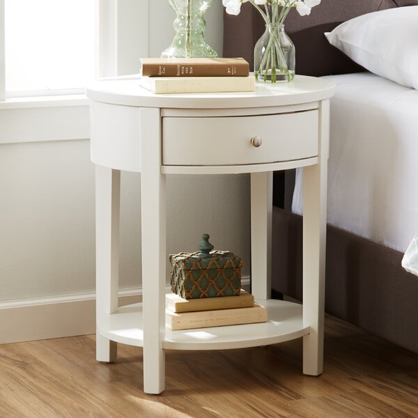 Review Canterbury End Table With Storage
