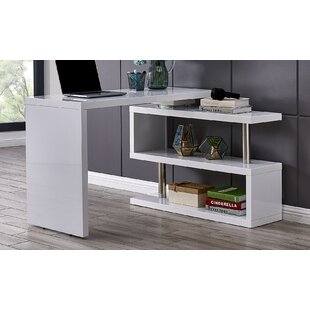 Compare prices Mustafa Multifunctional Writing Desk By Orren Ellis