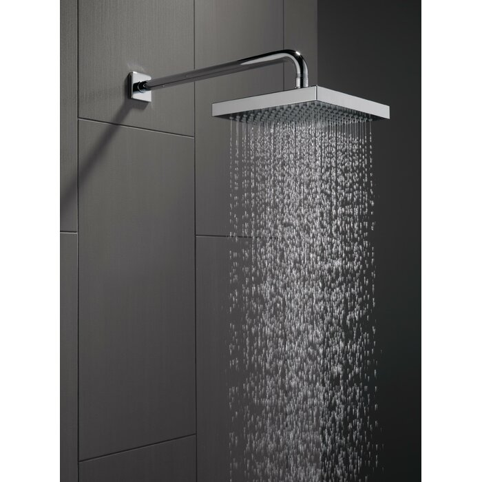 Universal Showering Components Touch Clean Rain Can Shower Head