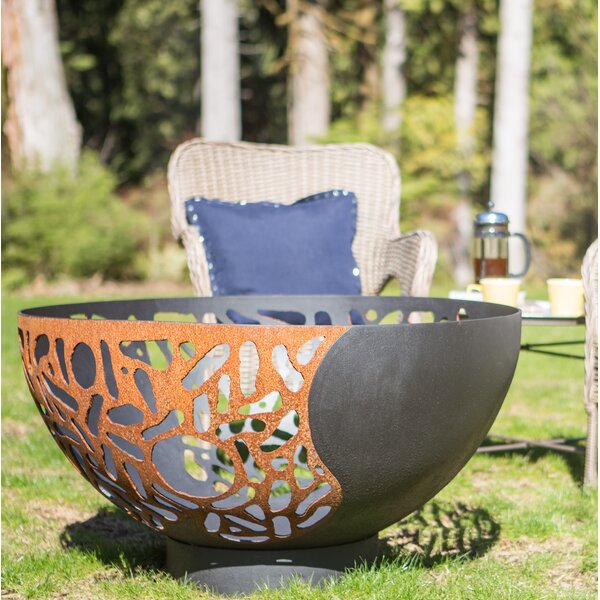 Blended Forces Steel Fire Pit by Cedar Creek Sculptures