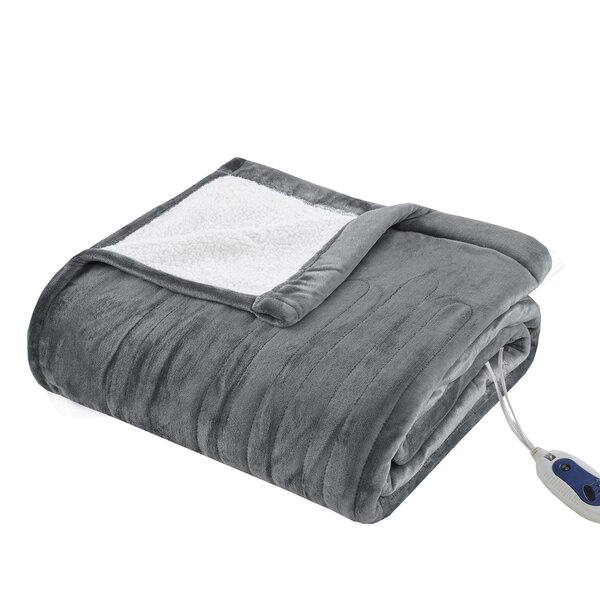 Plush Heated Blanket by Alwyn Home
