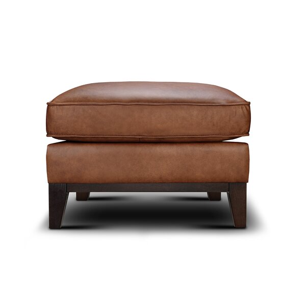 Whitson Leather Ottoman By Foundry Select