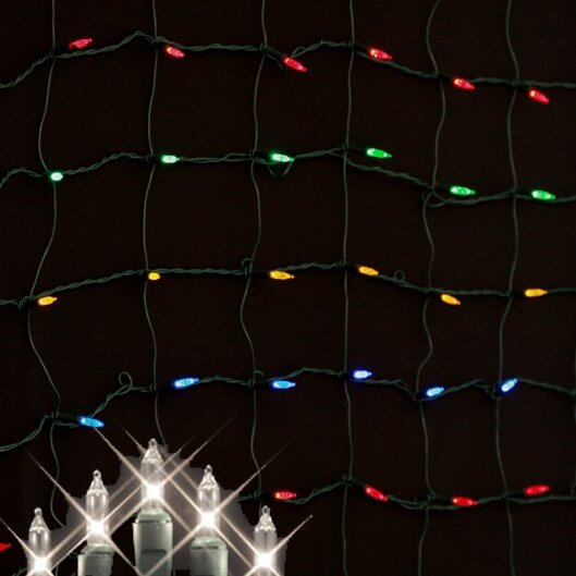 Minilights 150 Light Net Light by Queens of Christmas