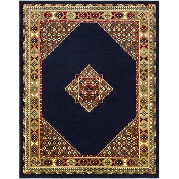 Batchelder Blue/Beige Area Rug by Astoria Grand