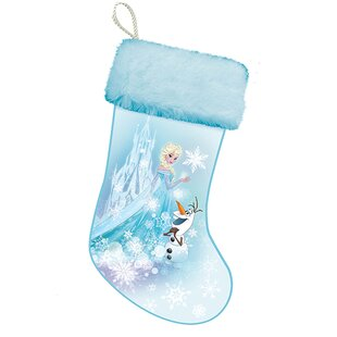 frozen elsa lighted stocking - Blue Christmas Stocking