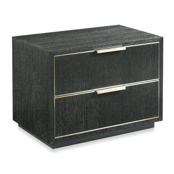 Irvine 2 Drawer Nightstand by Woodbridge Furniture