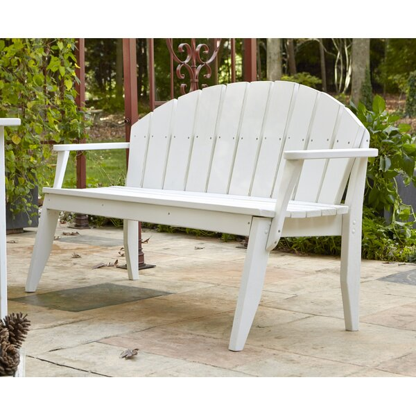 Plaza Garden Bench by Uwharrie Chair