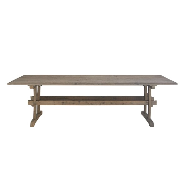 Winchendon Rustic Rectangular Wood Dining Table by Union Rustic