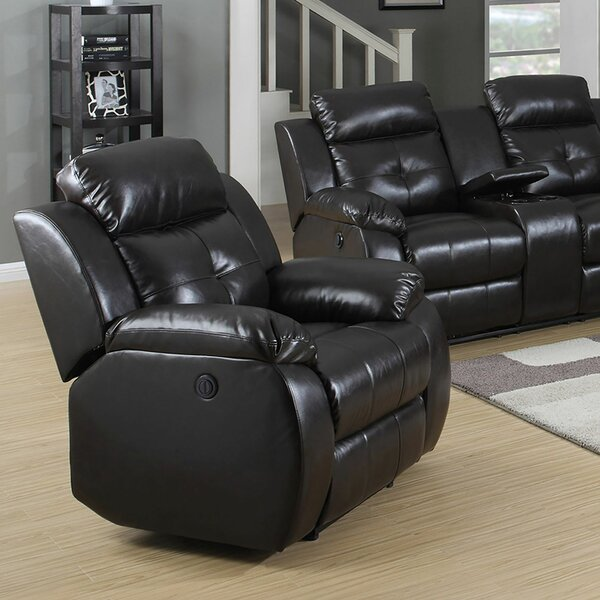 Hampton Power Recliner by Living In Style