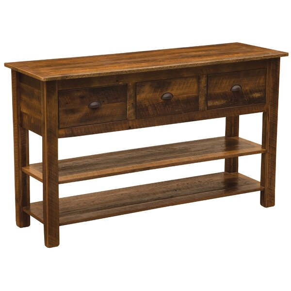 Devrek Console Table By Union Rustic