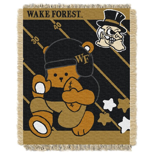 Collegiate Wake Forest Baby Blanket by Northwest Co.
