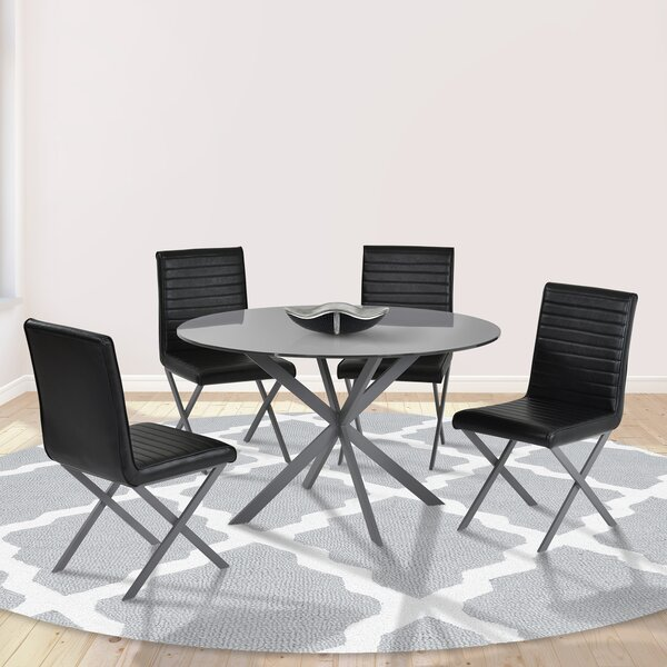 Reviews Hale 5 Piece Dining Set By Orren Ellis Cool
