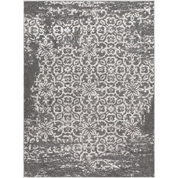Ranck Distressed Taupe/Ivory Area Rug by Bungalow Rose