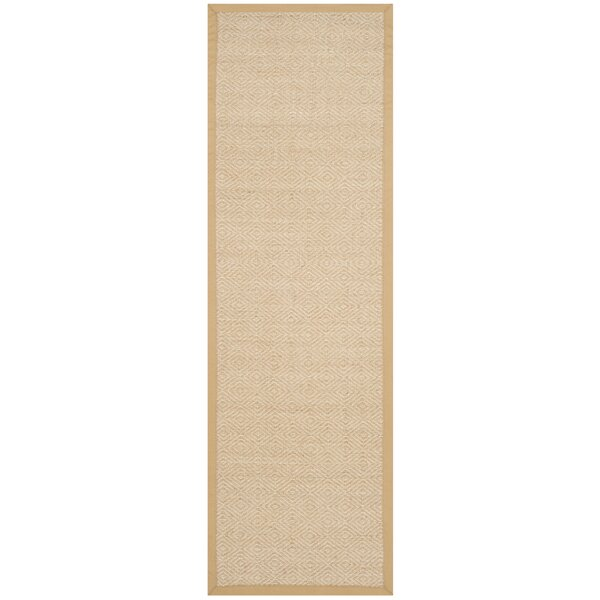 Freels Natural/Beige Area Rug by Wrought Studio