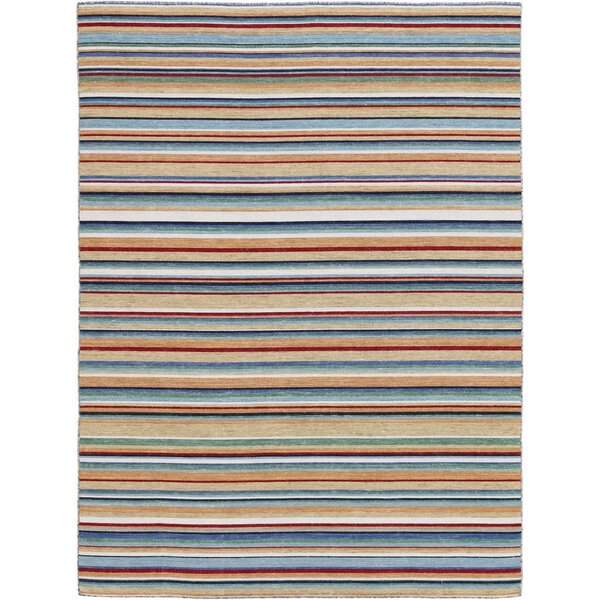 Cavanaugh Flat-Weave Multicolored Area Rug by Highland Dunes