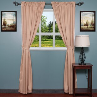 Lined Burlap Curtains