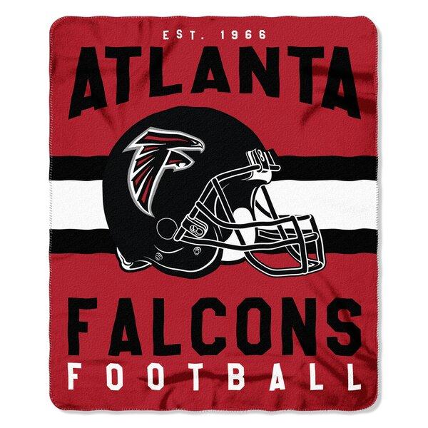 NFL Atlanta Falcons Printed Fleece Throw by Northwest