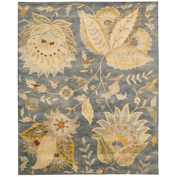 Delaware Denim Area Rug by Darby Home Co