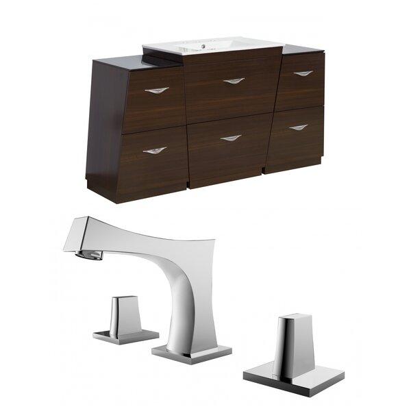 Vee 62 Single Bathroom Vanity Set