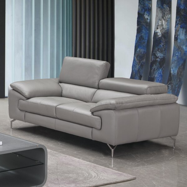 Exellent Quality Mayer Leather Loveseat by Orren Ellis by Orren Ellis