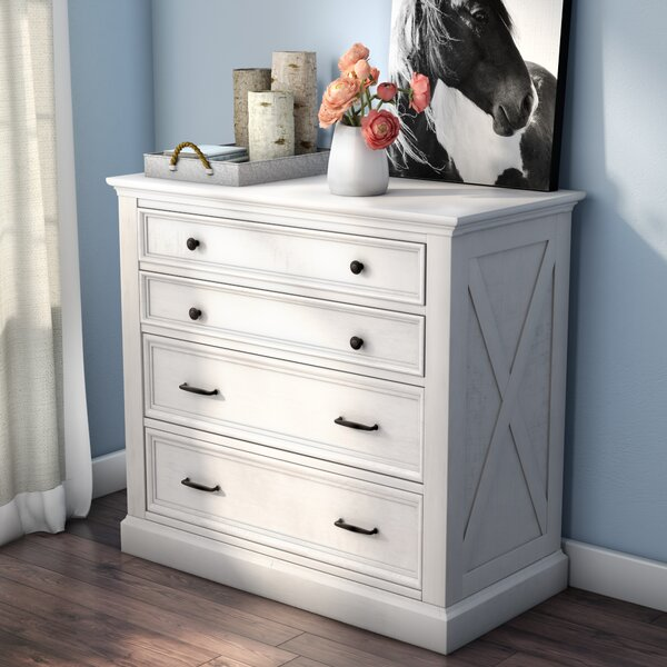 Moravia 4 Drawer Dresser by Laurel Foundry Modern Farmhouse
