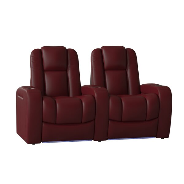 Home Theater Row Seating (Row Of 2) By Red Barrel Studio