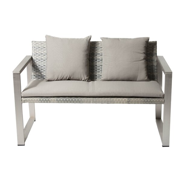 Chstr Sofa with Cushion by Rosecliff Heights