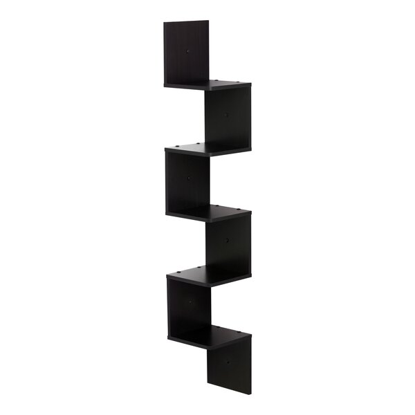 5 Shelf Wall Mount Corner Shelf by Ebern Designs