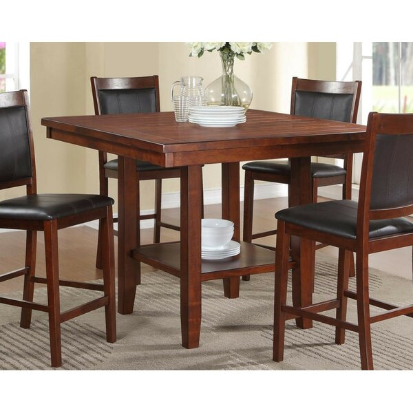 Tony 5 Piece Counter Height Dining Set by A&J Homes Studio