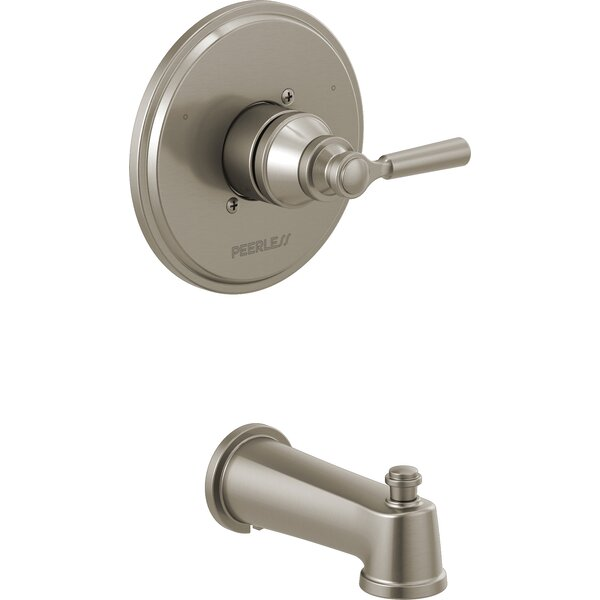 Westchester Single Handle Wall Mounted Tub Spout Trim With Diverter By Peerless Faucets