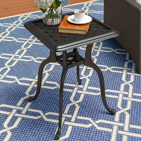 Reagan Metal Side Table by Alcott Hill