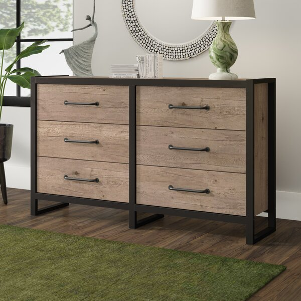 Caskey 6 Drawer Double Dresser by Ivy Bronx