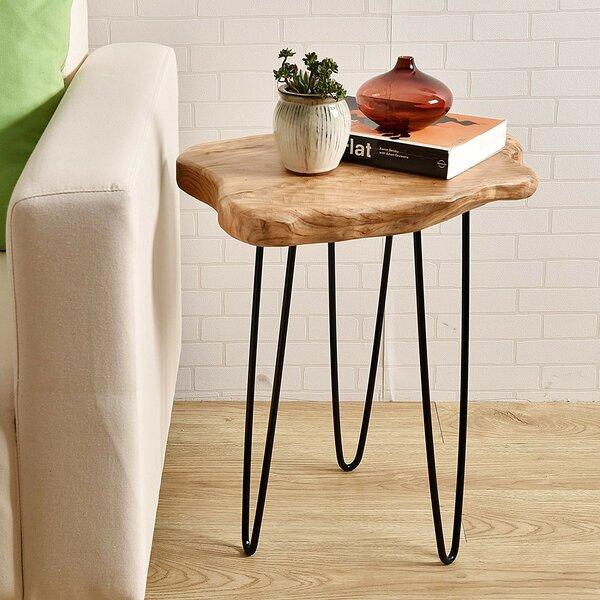 Cedar Wood End Table by Welland LLC