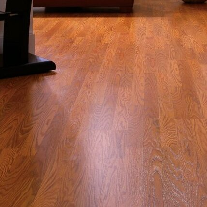 Genova 6 x 54 x 8mm Oak Laminate Flooring in Cinnamon Oak by Mohawk Flooring
