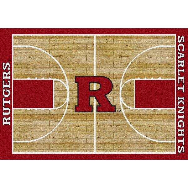 NCAA College Home Court Rutgers Novelty Rug by My Team by Milliken