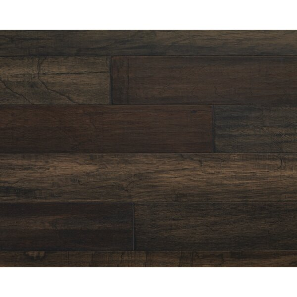 Mayan Pecan 5 Engineered Copaiba Hardwood Flooring in Pepper by Mannington