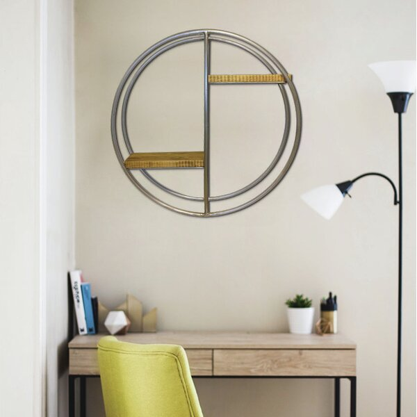 Silliman Circular Wall Shelf by Brayden Studio