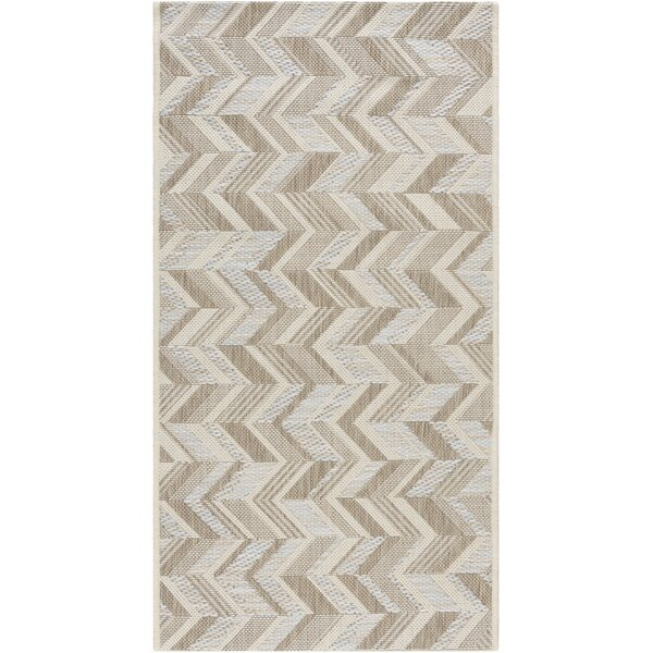 Farlough Brown/Neutral Indoor/Outdoor Area Rug by Langley Street