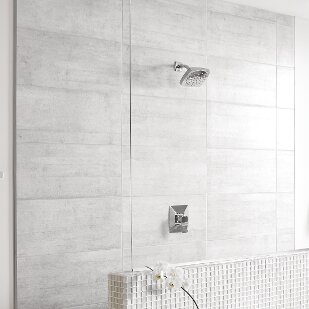 Reviews Via Shower Faucet Lever Handle with Posi-Temp ByMoen