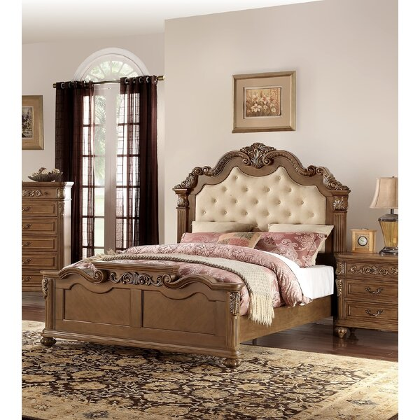 Liao Upholstered Standard Bed by Astoria Grand
