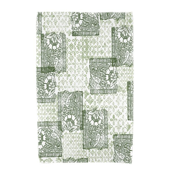 Monroe Patches Beach Towel by Gracie Oaks