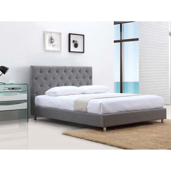 Otto Fabric Queen Upholstered Standard Bed by Casabianca Furniture