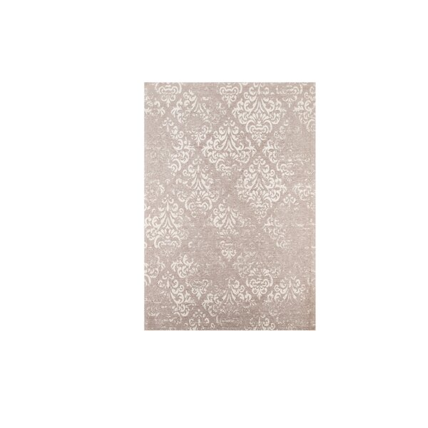 Portleven Taupe/Ivory Area Rug by Charlton Home
