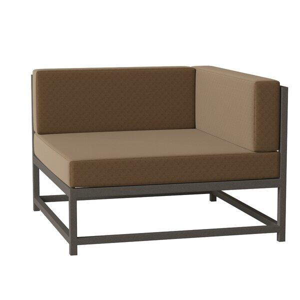Cabana Club Corner Patio Chair with Cushions by Tropitone